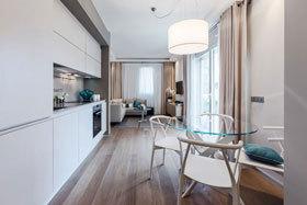 蔚蓝色海洋 时尚现代公寓