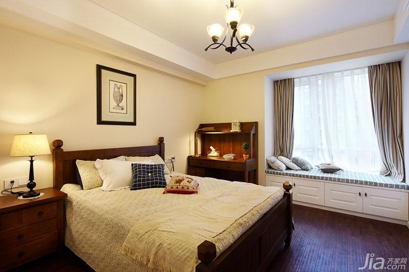 美式风格公寓温馨效果图