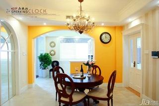 美式风格公寓浪漫餐桌图片