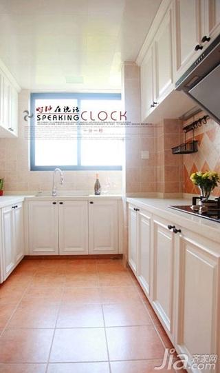 美式风格公寓浪漫厨房装修图片