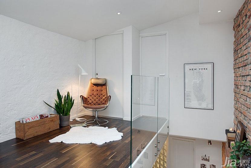 公寓小清新阁楼装修效果图