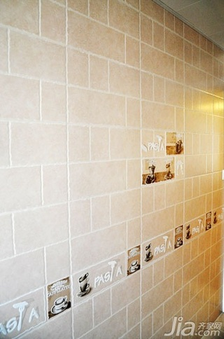 简约风格温馨90平米瓷砖婚房家装图片