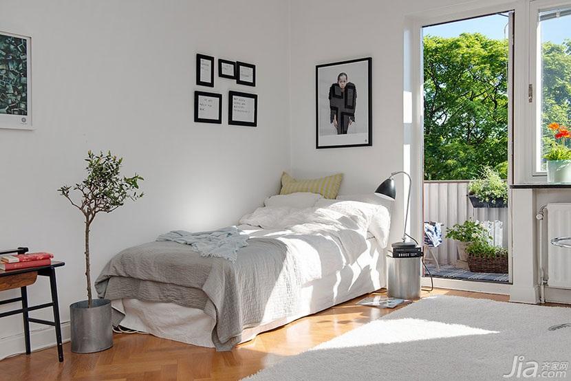 现代简约风格白领公寓效果图纸