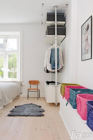 田园风格小户型小清新卧室装修