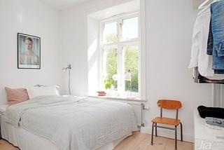 田园风格小户型小清新白色卧室设计