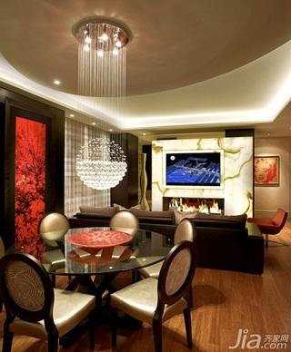 公寓奢华15-20万水晶灯图片