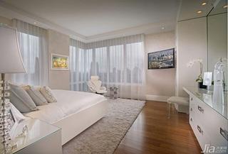 公寓奢华白色15-20万卧室效果图