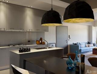 简约风格一室一厅餐桌效果图