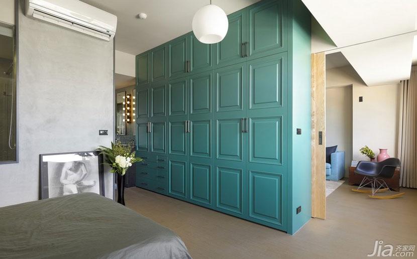 简约风格一室一厅衣柜设计