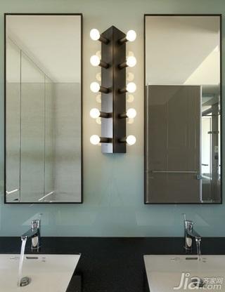 简约风格一室一厅卫生间洗手台效果图