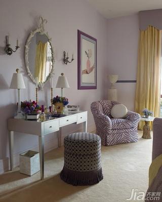 美式风格三室两厅艺术梳妆台效果图
