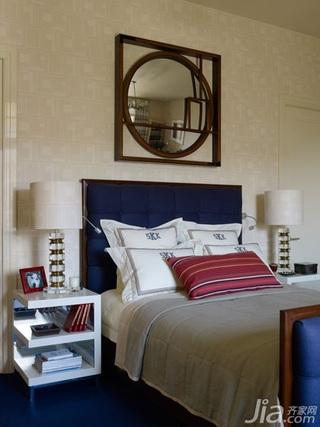 美式风格三室两厅艺术卧室效果图