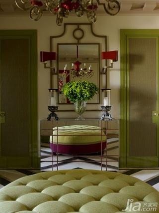 美式风格三室两厅艺术装修效果图