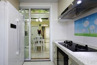 田园风格两室一厅小清新10-15万80平米装修效果图