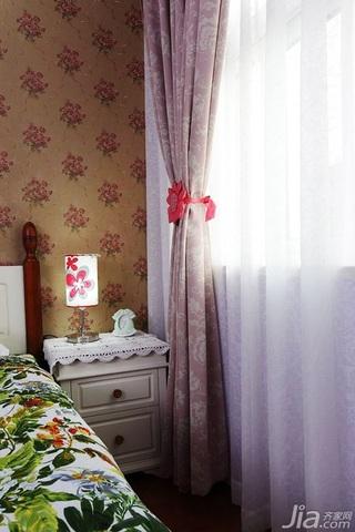 田园风格两室一厅小清新10-15万80平米设计图