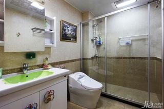 田园风格两室一厅小清新10-15万80平米装修图片