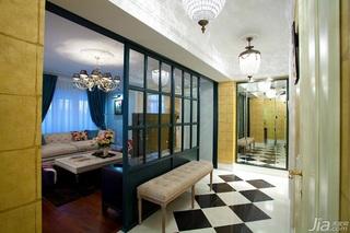 英伦风格一室一厅民族风100平米效果图