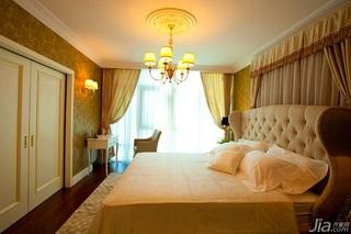 英伦风格一室一厅艺术100平米装修图片