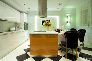 英伦风格一室一厅艺术100平米效果图
