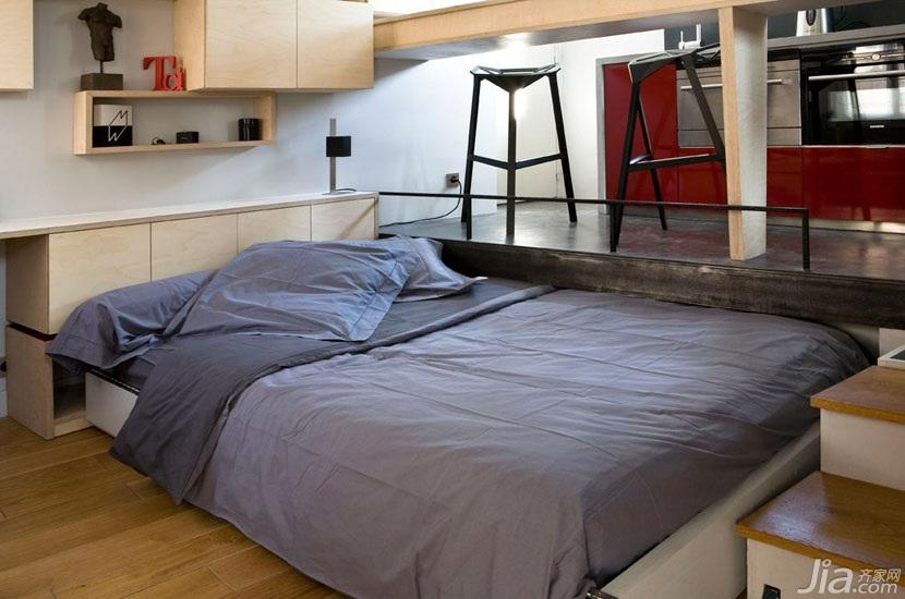 公寓经济型床效果图