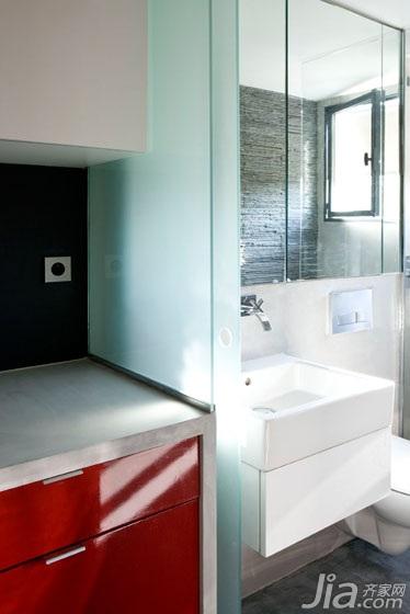 公寓经济型卫生间效果图