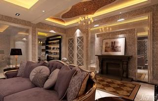 欧式客厅吊顶客厅灯效果图