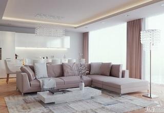 欧式客厅客厅灯效果图