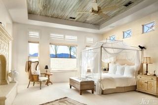 别墅奢华富裕型卧室床效果图