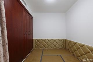 中式风格一室一厅稳重榻榻米设计
