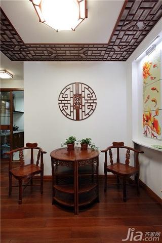 中式风格一室一厅稳重装修效果图