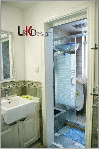 现代简约风格小户型卫生间隔断旧房改造家装图片