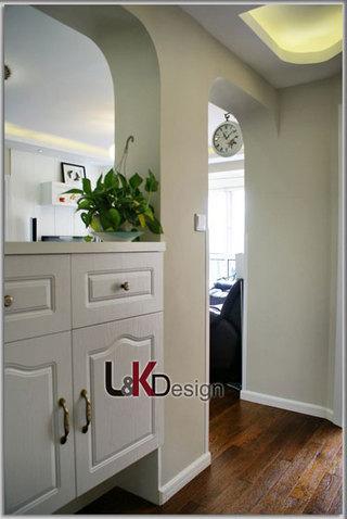 现代简约风格小户型隔断旧房改造家装图