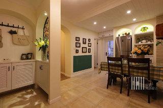 混搭风格三室两厅100平米装修图片