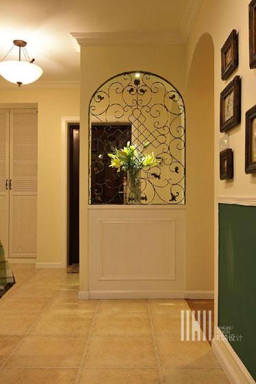 混搭风格三室两厅100平米效果图