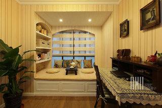 混搭风格三室两厅100平米设计图纸