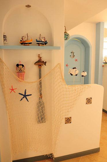 地中海风格一室一厅设计图