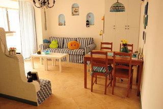 地中海风格一室一厅装修设计