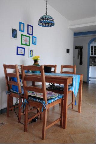 地中海风格一室一厅平面图