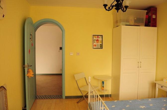 地中海风格一室一厅装修图片