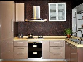 銀絲漫舞烤漆板櫥柜