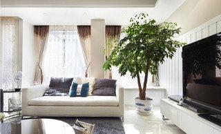 现代简约风格别墅奢华灰色装修效果图