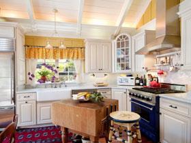 清新內斂簡歐風廚房