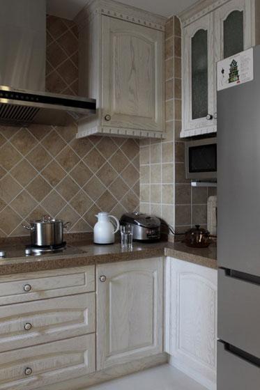 欧式风格厨房婚房家居图片