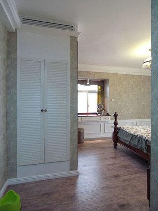 美式风格三室两厅140平米以上衣柜安装图