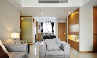 两室一厅小清新原木色80平米效果图
