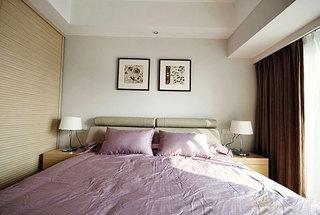 两室一厅小清新原木色80平米装修效果图