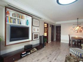 85后顧家暖男精心打造 美式風格三居室