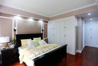美式风格复式富裕型140平米以上卧室设计