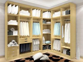 厚实木生态板衣柜