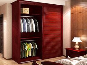 欧式简约现代整体衣柜